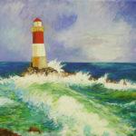 peinture phare marine