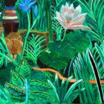 Peinture à l'huile André Cepriano