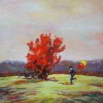 Peinture à l'huile Annie Benhaim