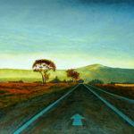 Peinture chemin Joséphine Cobham