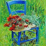Peinture huile Claudie Galabert