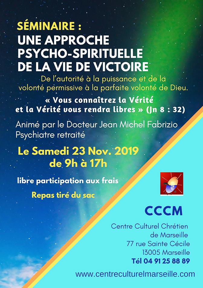 séminaire chrétien Marseille CCCM